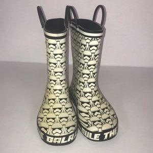 Star Wars rain and snow boots
